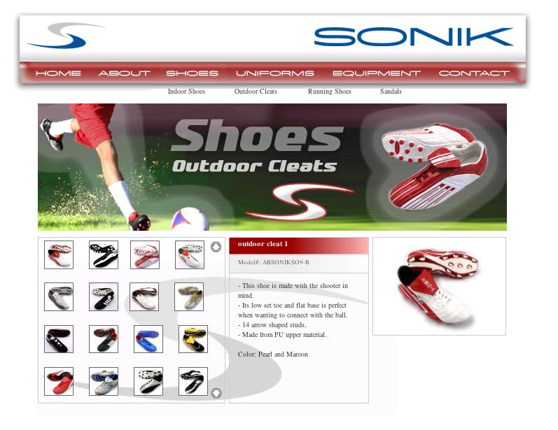 Sonik Sports Wear