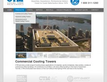 CTM Cooling Tower Website