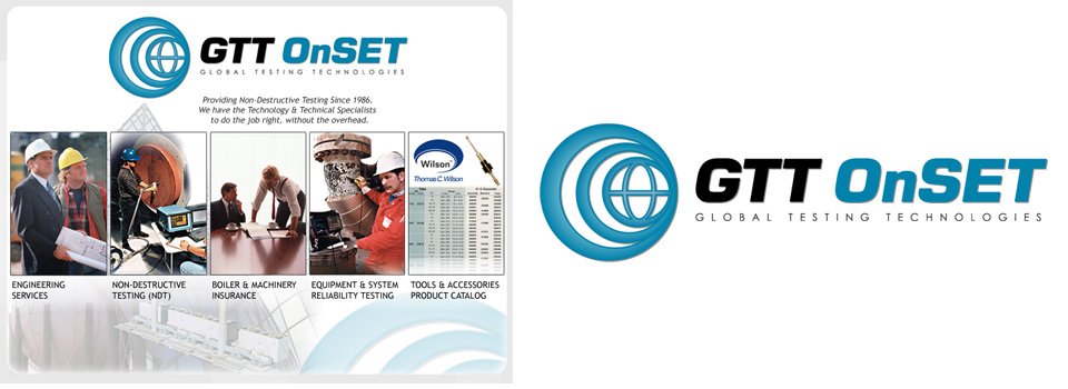 GTT OnSET Website and Logo Design