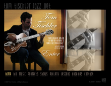 Tom Tischler Jazz Guitarist Website