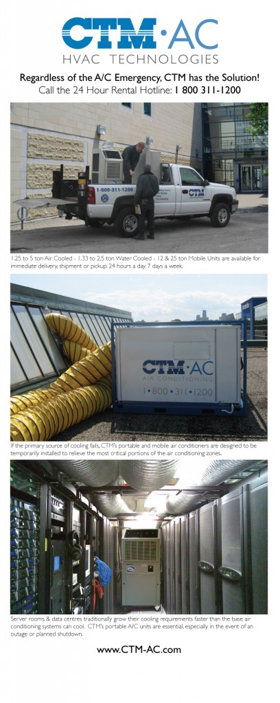 CTM Air Conditioning - Retractable Display