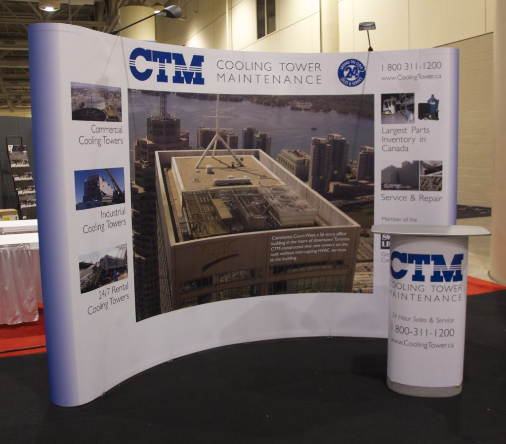 CTM Trade Show Booth