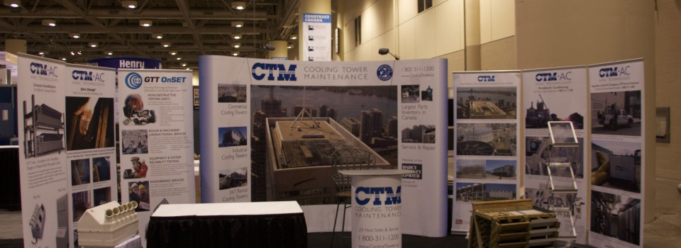 CTM Trade Show Booth & Displays