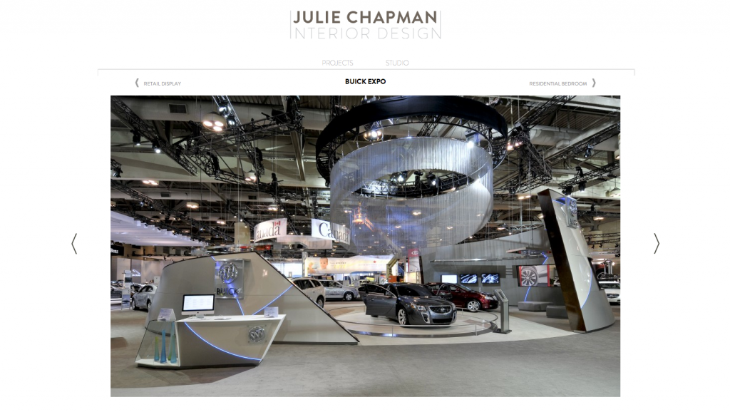 Julie Chapman Interior Design - Website